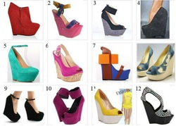 Since It Is A Garden Wedding We Advise You To Wear Wedge Shoes Any Color Will Do